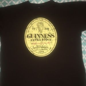 Guinness Extra Stout Size XL Brown Tshirt